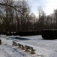 Blick in den Kur-Garten in Franzensbad